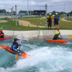 Promoting kayaking at Lee Valley