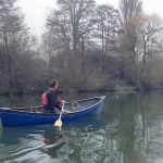 Canoeing on the Thames