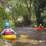 Urban kayaking on South London's River Wandle