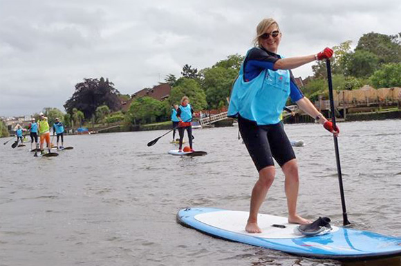 Thames Stand Up Paddle Board Challenge  SUP London 2014