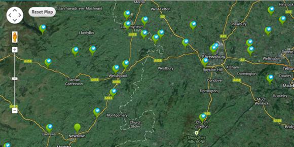 GaugeMap twitter map