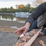Building skin-on-frame sea kayaks at Kew
