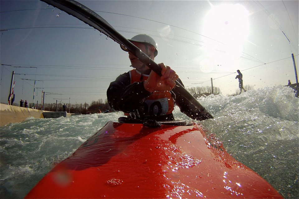 Kayaking at Lee Valley, image credit: Steve Flatman