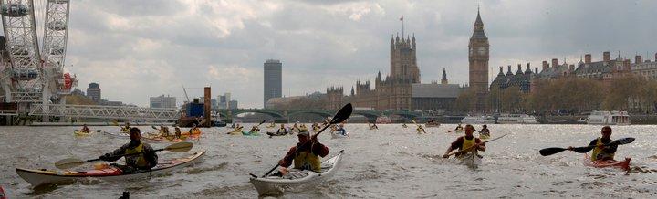 London Kayakathon 2017