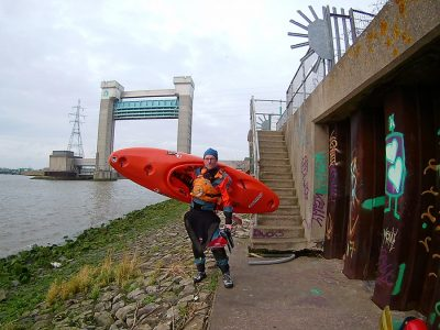 Kayaking the River Roding & Barking Creek, from the Thames to Ilford